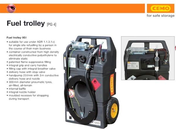 Fuel Trolley Model 95I